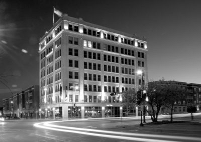 Bellin Building, Green Bay, WI black & white