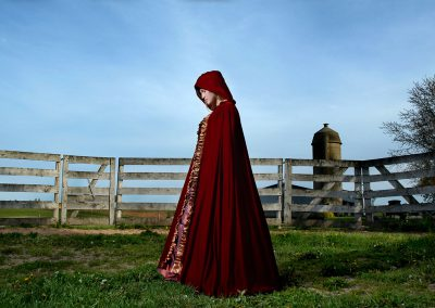 Red Riding Hood on the Farm