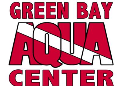 aqua center of green bay logo
