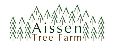 aissen tree farm logo