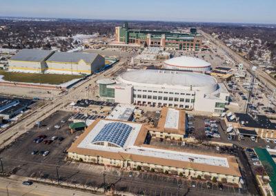 Titletown-District East, Resch Center, Lambeau Field, Don Hutson Center